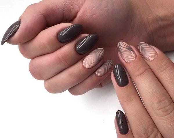Long Nails Art Design Ideas in Fall & Winter