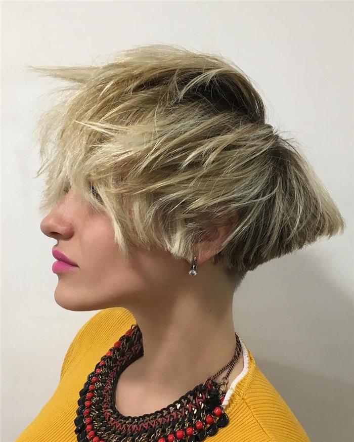 Hottest Short Bob Hairstyle Inspiration 2020, #ShortBobHairstyle, #BobHairstyle, #BobHaircut