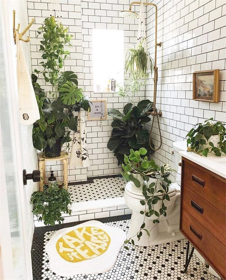 To give you some small bathroom ideas, we have found 30 small and fashion bathroom ideas for 2020. If you want to bathroom which are suitable for you house, you can browse our website from time to time. #smallbathroomideas #bathroomdecor #bathroomremodel #bathroomideas
