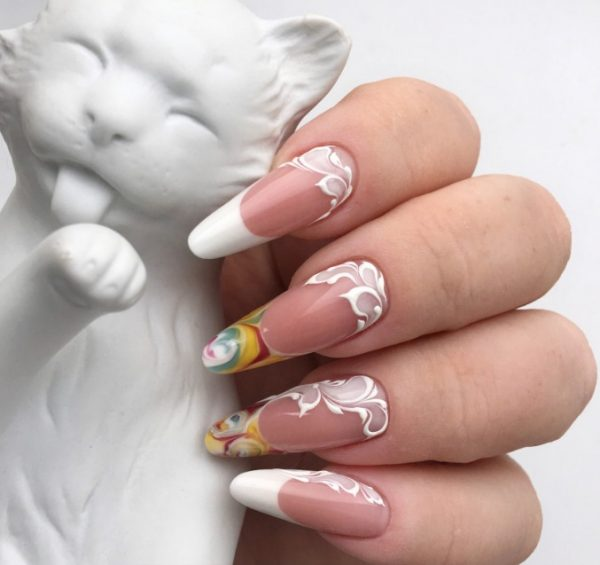 Chic French Nail Designs Ideas