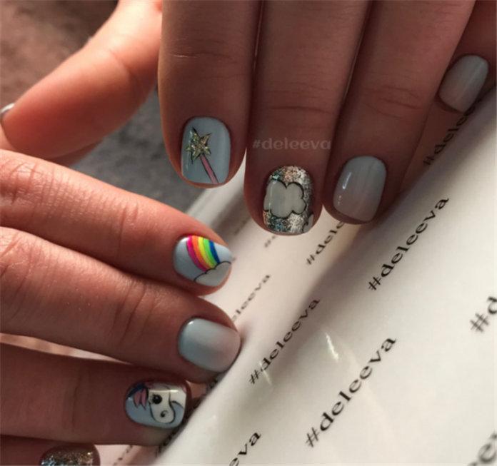 Stylish Short Nail Design Ideas 2021, #ShortNail, #ShortNailDesign