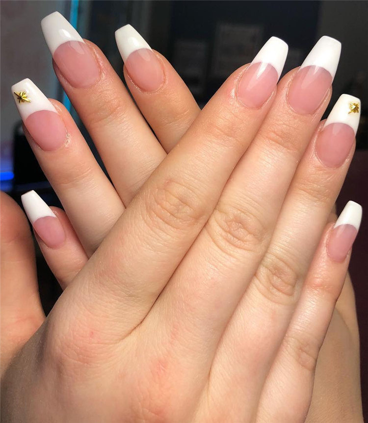 70+ French Manicure Ideas and Inspiration 2020, #FrenchManicure, #FrenchNails