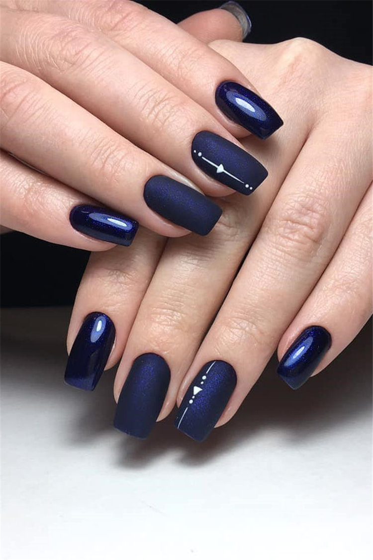 77 Stylish Simple Geometric Nail Art Designs Trendy Ideas For 2020 Flymeso Blog,Popular Designer Brands Wallpaper