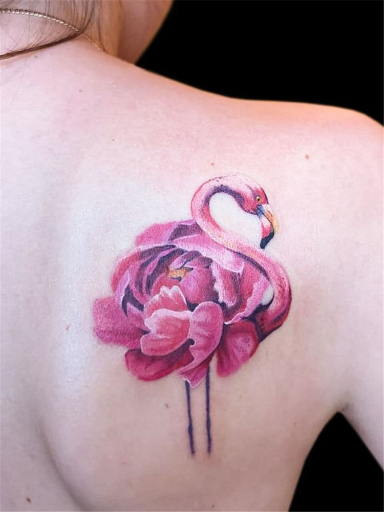 Watercolor tattoo ideas for women, include flower tattoo, butterfly tattoos, and lavender tattoo design and more. If you want to try watercolor tattoos, you can browse our website from time to time. #watercolortattoo #tattooideas #tattoodesigns
